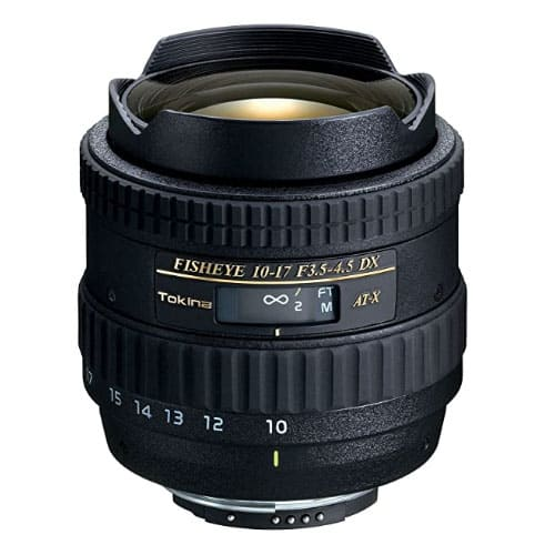 Tokina 10-17mm f/3.5-4.5 DX Fisheye Underwater Lens