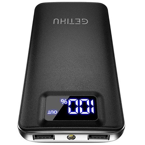 GETIHU Ultra Slim 10000mAh Portable Charger