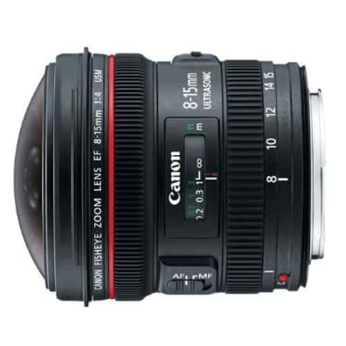 Canon EF 8-15mm f/4 Underwater Lens