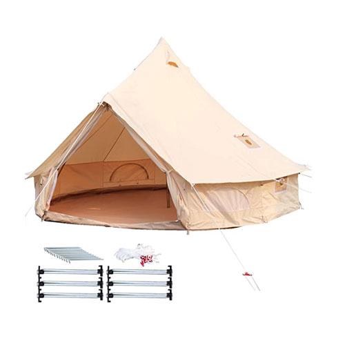 Happybuy Yurt Canvas Tent