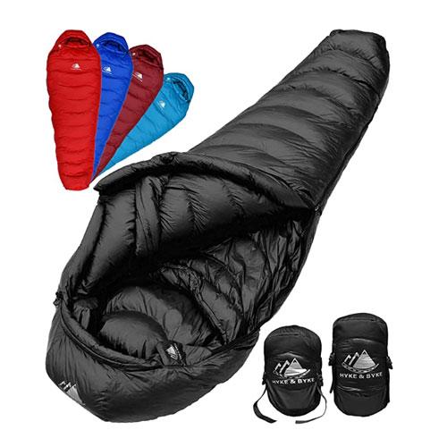 Hyke & Byke Down Winter Sleeping Bag