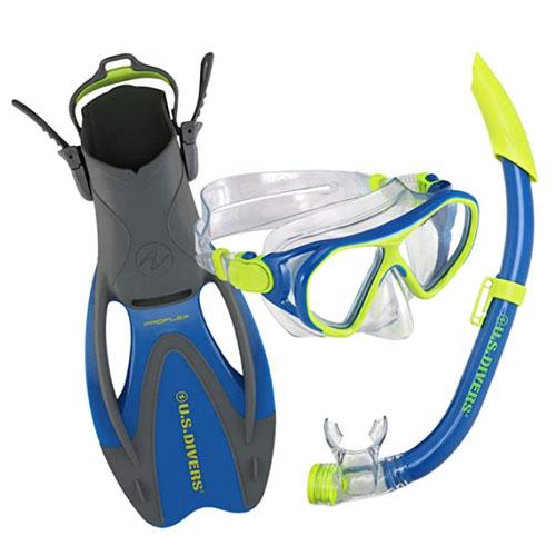 U.S. Divers Dorado II Youth Snorkel Set