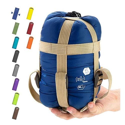 ECOOPRO Warm Weather Single Lightweight Sleeping Bag