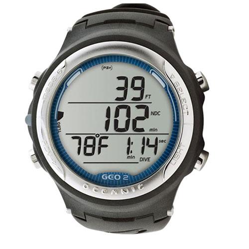Oceanic Geo 2.0 Air/Nitrox Computer Freediving Watch