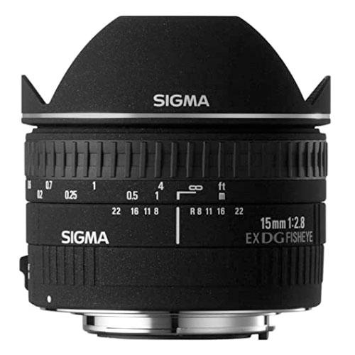 Sigma 15mm f/2.8 Fisheye Underwater Lens