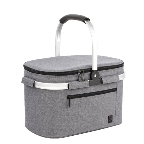 ALLCAMP Collapsible Insulated Picnic Basket