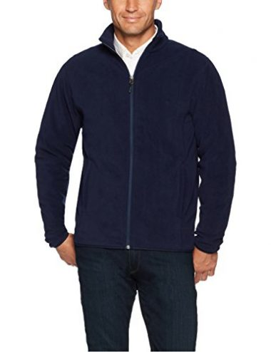 Mens Full Zip Polar Fleece Jacket By Amazon Essentials