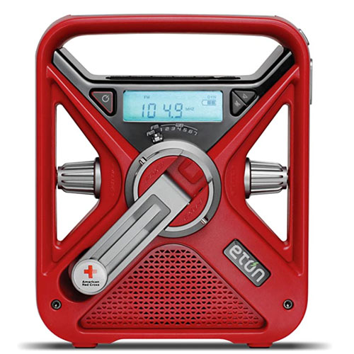 The American Red Cross FRX3+ Weather Emergency Radio