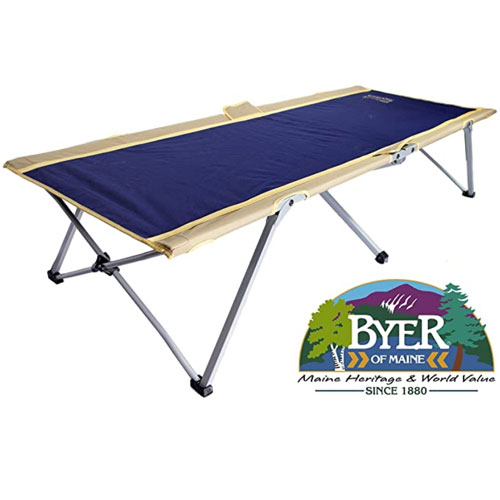 BYER OF MAINE Extra Large Camping Cot