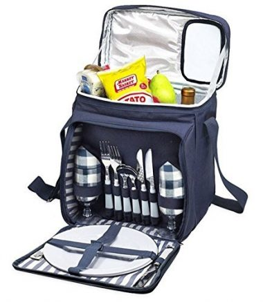 Imperial Home Insulated Picnic Basket