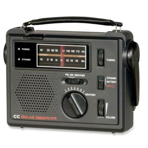 C Crane CC Crank Solar Observer Emergency Radio