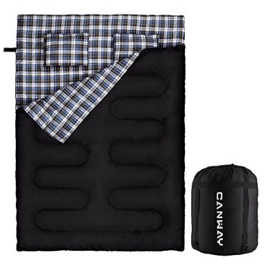 Canway Double Sleeping Bag Flannel Sleeping Bags