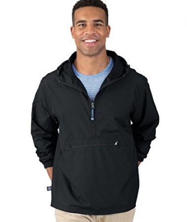 Charles River Apparel Men's Pack-N-Go Windbreaker Pullover