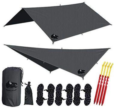 Waterproof Hammock Rain Fly Tent Tarp By Chill Gorilla
