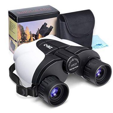 Cobiz Kids Binoculars 10×25 Outdoor Binoculars for Kids