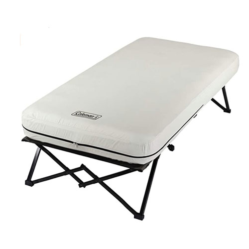 Coleman Airbed with Side Table Camping Cot
