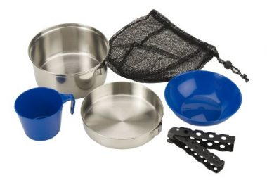 Coleman Stainless Steel Camping Mess Kits