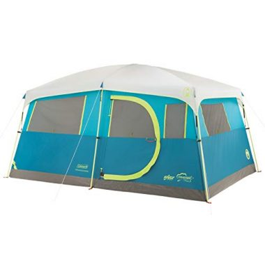 Coleman Tenaya Lake Fast Pitch 8 Person Cabin Camping Tent