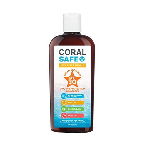 Coral Safe SPF 30 All Natural Biodegradable Reef Safe Sunscreen