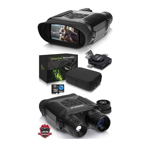 CreativeXP Glass Owl Digital Night Vision Binoculars