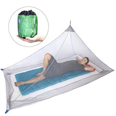 DIMPLES EXCEL Mosquito Net for Single Camping Bed