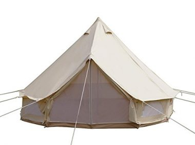 10 Best Canvas Tents in 2019 [Buying Guide] Reviews - Globo Surf