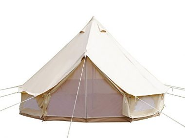 Luxury Outdoor Glamping Tent by Dream House