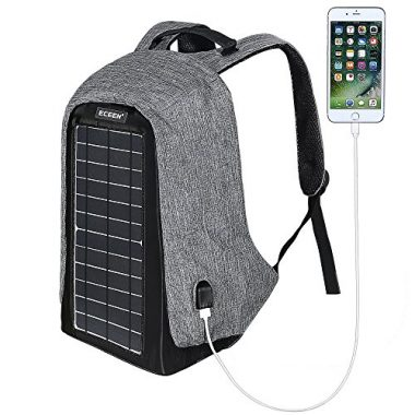 ECEEN Solar Powered Solar Backpack