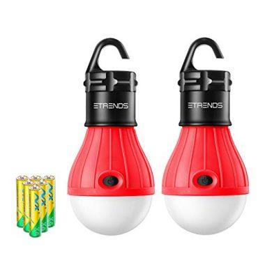 E-TRENDS LED Lantern Tent Camp
