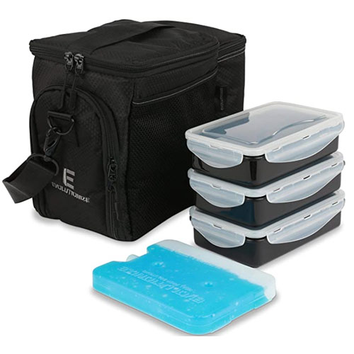 Evolutionize EDC Meal Prep Insulated Lunch Box