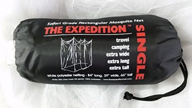 Expedition 84x39x66-Inch Rectangular Mosquito Net