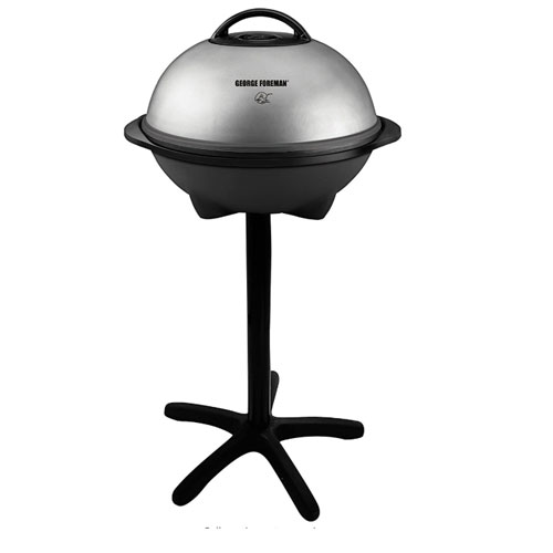 George Foreman 15-Serving Indoor/Outdoor Electric Portable Grill