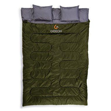 Gideon Extreme Waterproof Backpacking Double Sleeping Bag