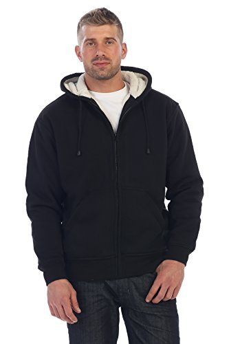 Gioberti Men's Sherpa Lined Fleece Jacket