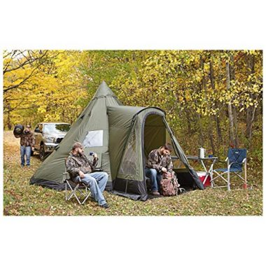 Deluxe Teepee Tent 14' x 14' by Guide Gear