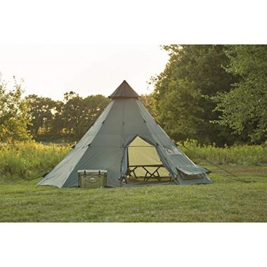 Guide Gear 18' x 18' Teepee Tent