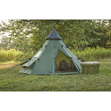 10 Best Teepee Tents in 2019 [Buying Guide] Reviews - Globo Surf