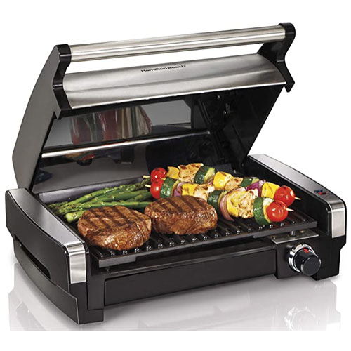 Hamilton Beach (25360) Indoors & Outdoor Electric Portable Grill