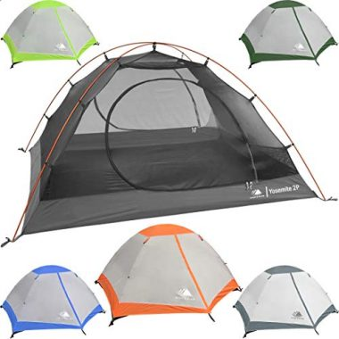 Hyke & Byke Yosemite 2 Person Backpacking Ultralight Tent