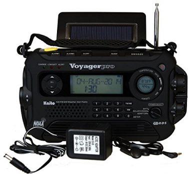 Kaito Voyager Pro KA600 Digital Weather Emergency Radio