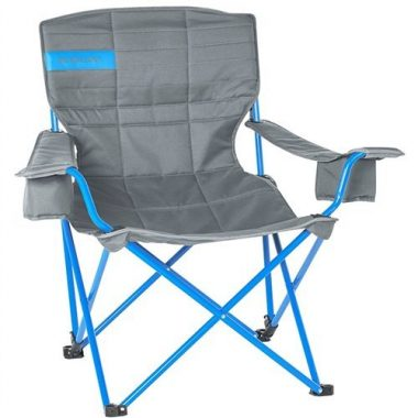 Kelty Deluxe Lounge Chair Smoke/Paradise Blue