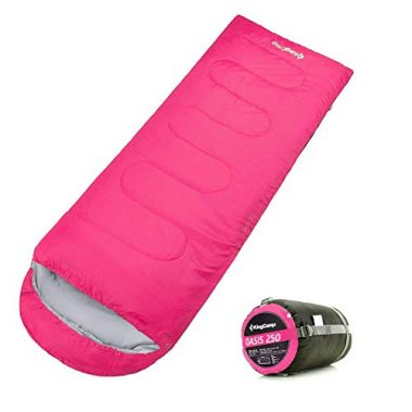 KingCamp Envelope Sleeping Bag for Kids
