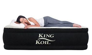 King Koil QUEEN SIZE Luxury Raised Camping Air Mattress