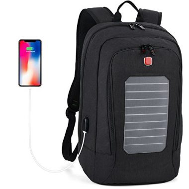 Fanspack Solar Powered Backpack