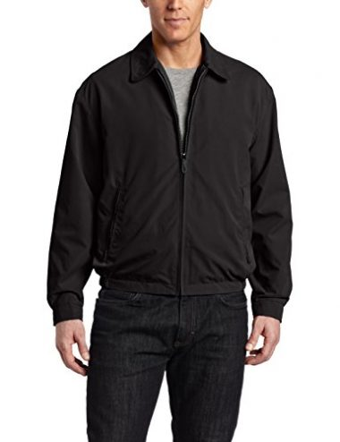 London Fog Men's Auburn Zip-Front Golf Windbreaker Jacket