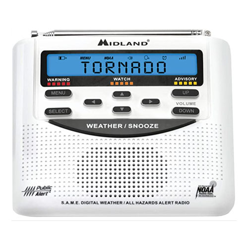 Midland NOAA All Hazards with SAME Emergency Radio