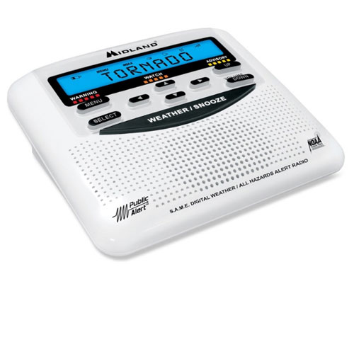 Midland NOAA All Hazards with SAME Emergency Radio
