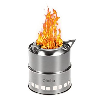 Ohuhu Camping Stove Stainless Steel Camping Stove