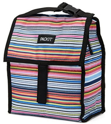 PackIt Freezable Bag with Zip Closure Lunch Cooler