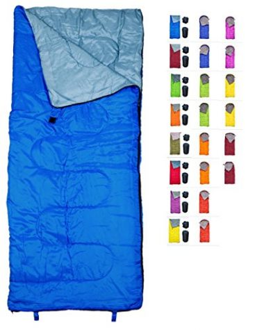 REVALCAMP Lightweight Sleeping Bag for Kids, Boys, Girls, Teens, and Adults